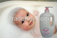 Tearless formula Nice Smell Refreshing Moisturizing Baby Bubble bath