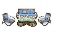 wicker outdoor garden furniture