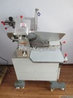 The meat slicer making machine