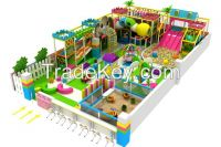Amusement Park Indoor Playground Colorful theme can be Customized