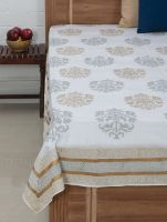 MYYRA Bed Cover Hand Block Printed