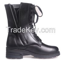 electric heating women half boots, military boots 3000 mAh lithium battery heated