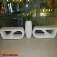 Factory FRP commercial stool, decoration furniture