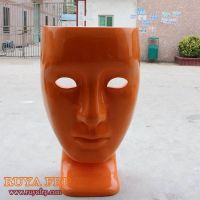 Home fiberglass leisure chair, mask modern chair, home decoration furniture