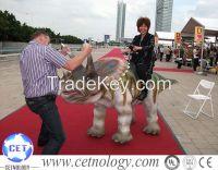 Amusement park High Simulation Artificial Dinosaur(Triceratops)