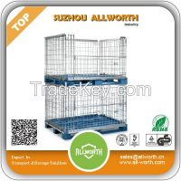 Warehouse Pallet Wire Mesh Container