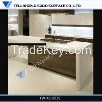 Fashinable design Solid Surface marble Kitchen top