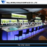 LED nightclub bar counter for sale