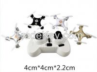 2.4G headless mode mini rc quad copter drone toy for wholesale