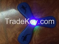EVA foam soft cheap led frisbee