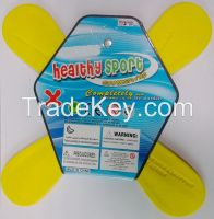EVA foam frisbee boomerang for pormotional