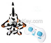 2.4G 4 channel 6 axis gyro super mini figher quadcopter drone with 3D tumbling
