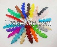 """Wholesale - free 5pcs length range 30-35cm 12-14"""" TOP quality fluffy colorful white ostrich feather used in wedding decoration"""