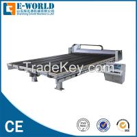 Big automatic shape glass cutting machine