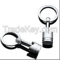 Piston keychain/car accessories promotion gift