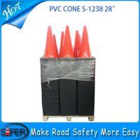 2014 hot sale 28inch pvc traffic cone wholesale