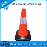 2014 hot sale 50cm pe traffic cone wholesale
