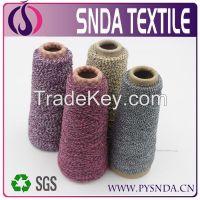 fancy yarn with 2/3 colors mixed yarn  melange yarn for cotton yarn im