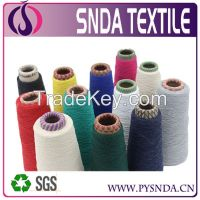 regenerated cotton yarn weaving yarn dyed cotton yarn for weaving