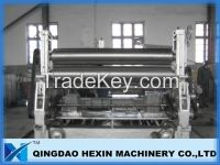 rolling machine for glass processing