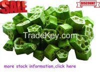 Natural Freeze Dried Okra High Quality