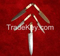 Kitchen Knife set Damascus steel chef knives custom cook 1071-BS