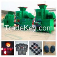 BBQ charcoal briquette machine for different shapes