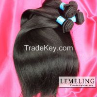 Raw cuticle virgin Remy hair Brazilian Peruvian Malaysian Indian Hair