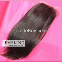 Finer quality Virgin Human hair Lace front closure