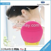 USB Charging Waterproof Ultrasonic Silicone Facial Cleansing Device