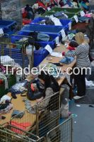 Used clothes, bags, shoes, soft toys
