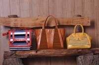Unique designs leather handmade bags