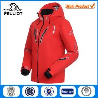 2014 new style winter outdoor waterproof mens ski jacket