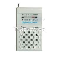 Outdoor Portable Pocket Mini Small Digital AM FM Radio Receiver with Speaker Antenna Headphone
