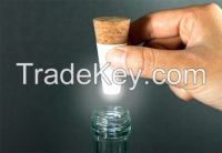 USB RECHARGEABLE DECORATIVE LED BREATHE BOTTLE CORK LIGHT WINE BOTTLE CAP STOPPER