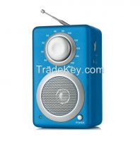 HOME PORTABLE DIGITAL TWO WAY AM FM RADIO RECEIVER with AUX-IN ANTENNA