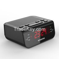 0.6 inch Hotel Home Digital LED alarm clock radio receiver
