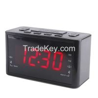 "1.2"" AM/FM Home Digital PLL LED alarm clock radio receiver"