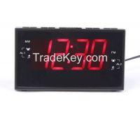 Home Digital Jumbo 1.8 inch LED alarm clock radio receiver