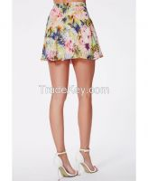 Women Mini Skirt with Latest Printing