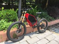 Enduro ebike ! High power electric bike 72V 3000W with hiddle battery