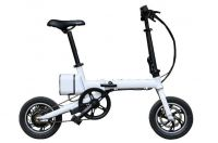 "36V 5.2Ah Lithium 12"" Foldable Mini E Bike with F & R Disc Brakes for Sale"