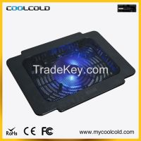 laptop cooling pad with single big fan