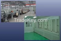 continuous sputterig coating machine