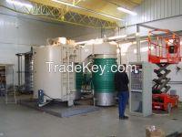 light protective film vacuum coating machine