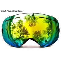 professional ski goggles double layers lens anti-fog UV400 big ski glasses skiing snowboard men women snow goggles