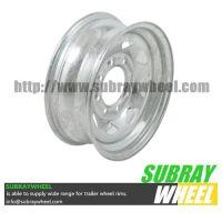 Galvanized Heavy Duty Mod Trailer Wheel