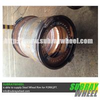 Steel Wheel Rim for Truck Crane