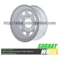 "16"" Lug Painted Trailer Wheel, Modular"