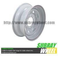 Painted Steel Trailer Wheels
